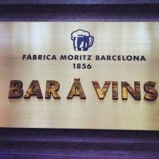 Bar À Vins lo nuevo de la Fabrica Moritz