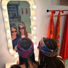 How to dress to impress with a Hermès silk scarf