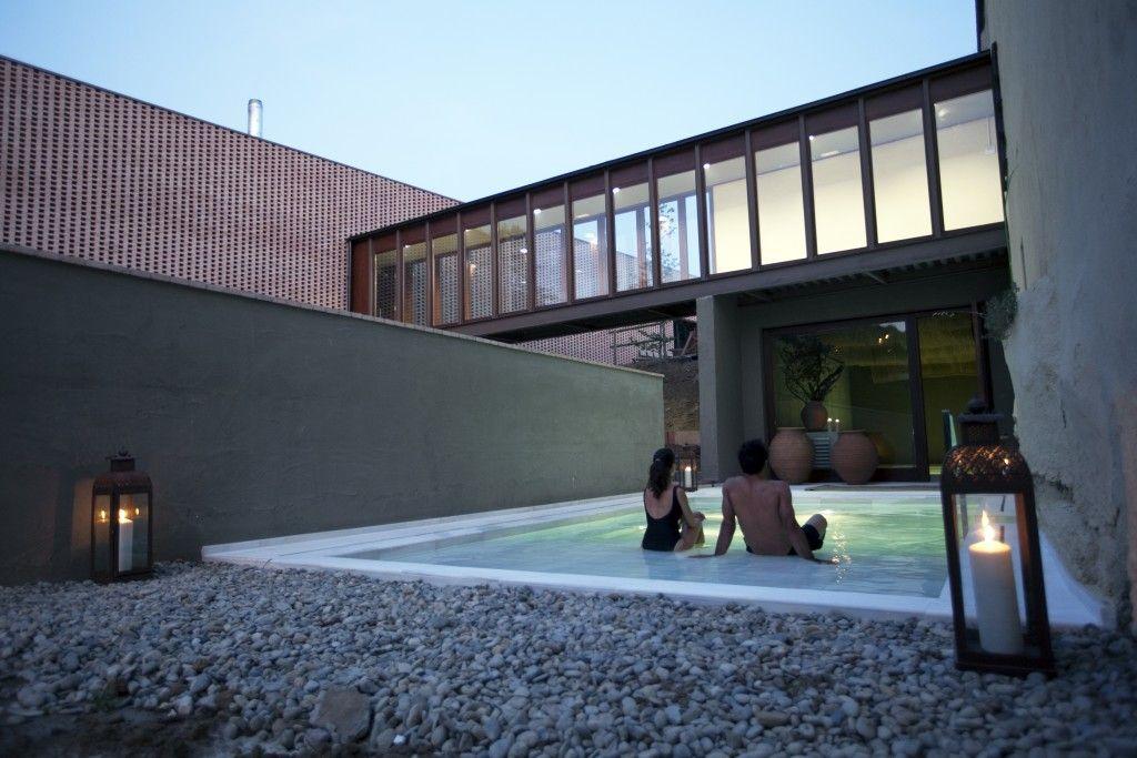 aire vallromanes_piscina exterior climatizada
