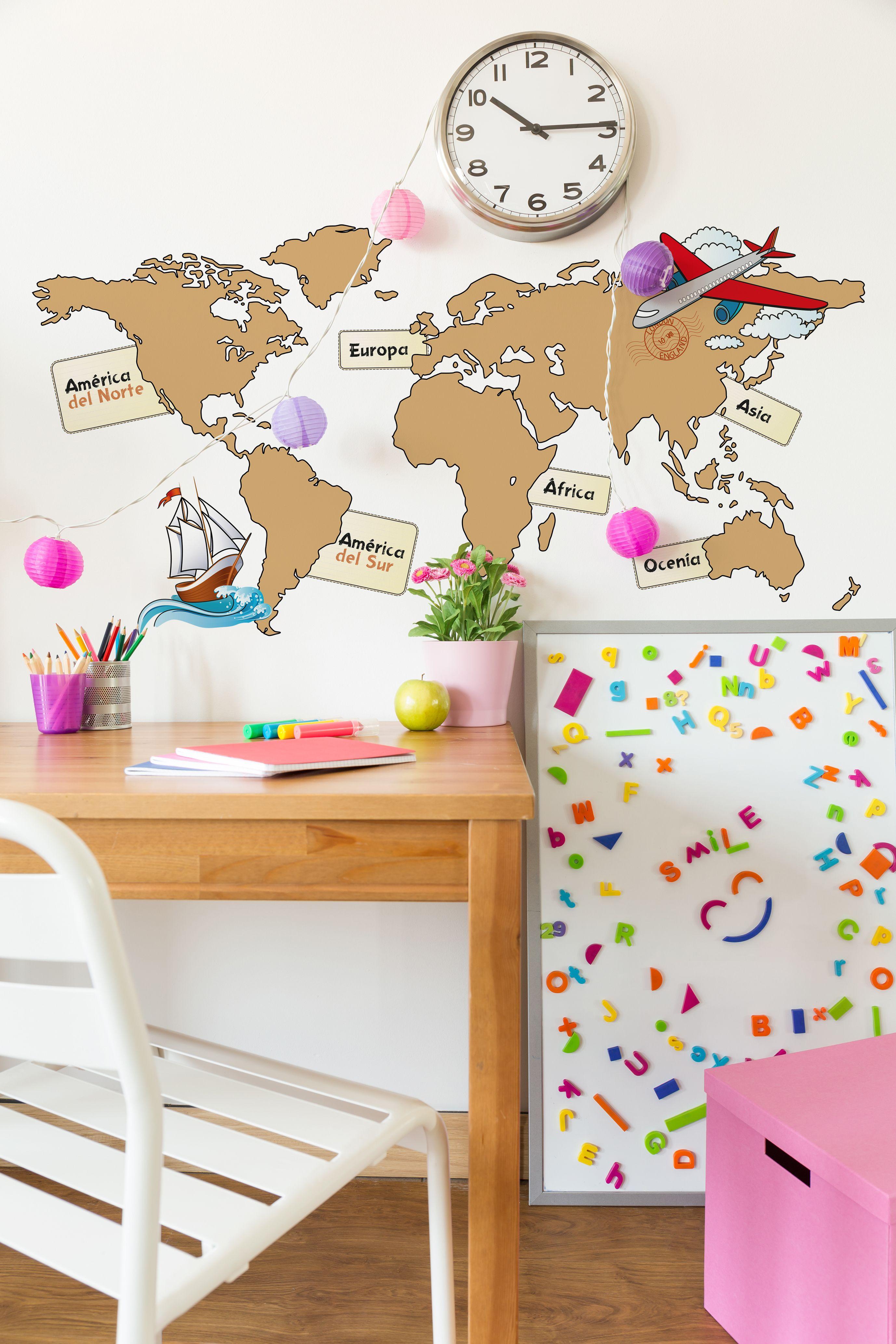 Vinilos del mundo vinilos mapamundi vinilos for Vinilo mapa del mundo