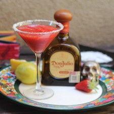 Momento cóctel: Margarita frozen de fresa