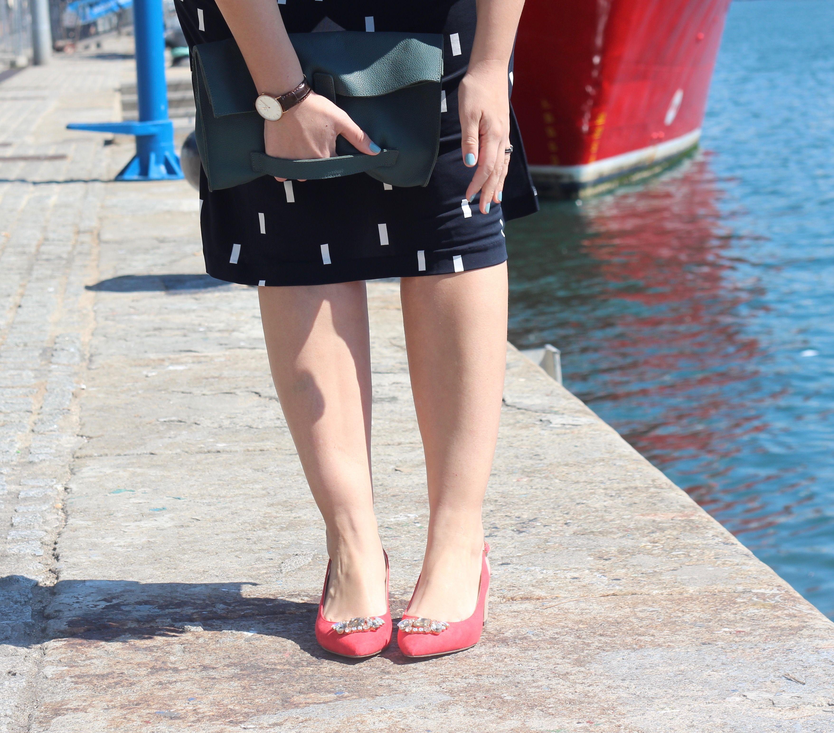 zapatos lady rojos