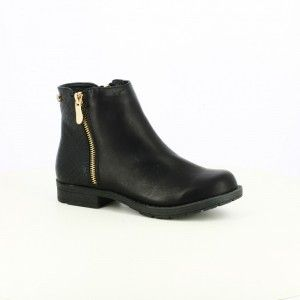 botines-xti-negros-comodos para caminar
