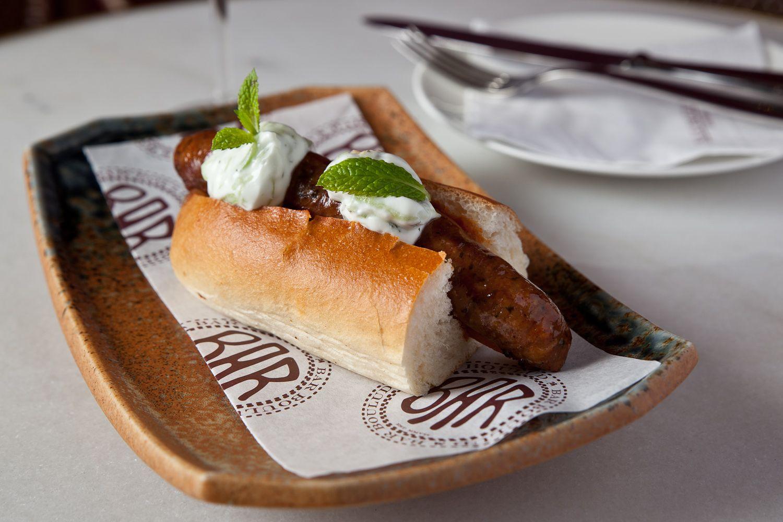 Tunisiene Hot Dog bar boulud