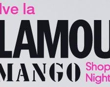 Glamour & Mango Shopping Night