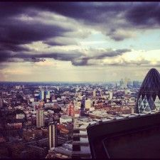 VERTIGO 42: Amazing views of London