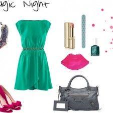 Vestida para una noche mágica