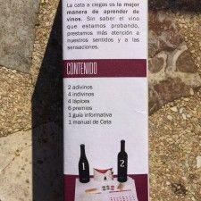 Kit de Cata: juego de cata de vinos a ciegas