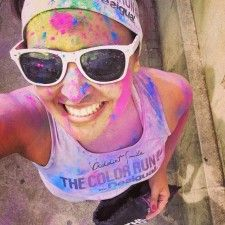 The Color Run by Desigual Barcelona 2015
