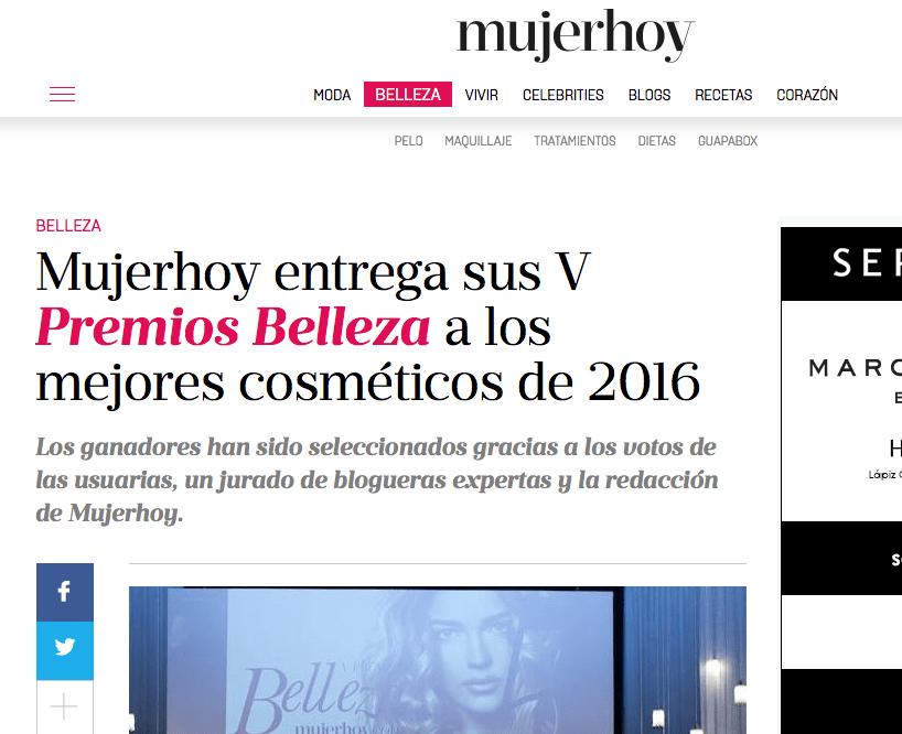 jurado bloggger premios de belleza 2016 mujer hoy_
