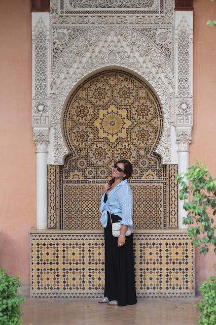 Estilo casual en Marrakech
