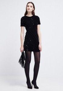 mini vestido negro fondo armario_zalando