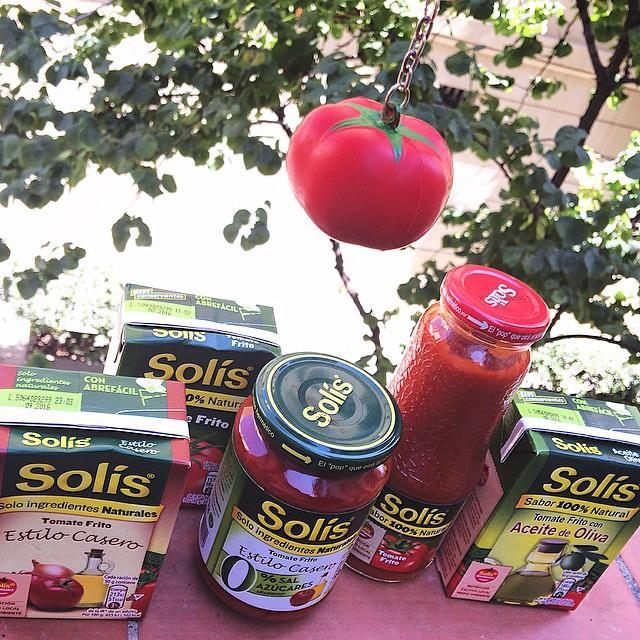 aquí hay tomate solis responsable
