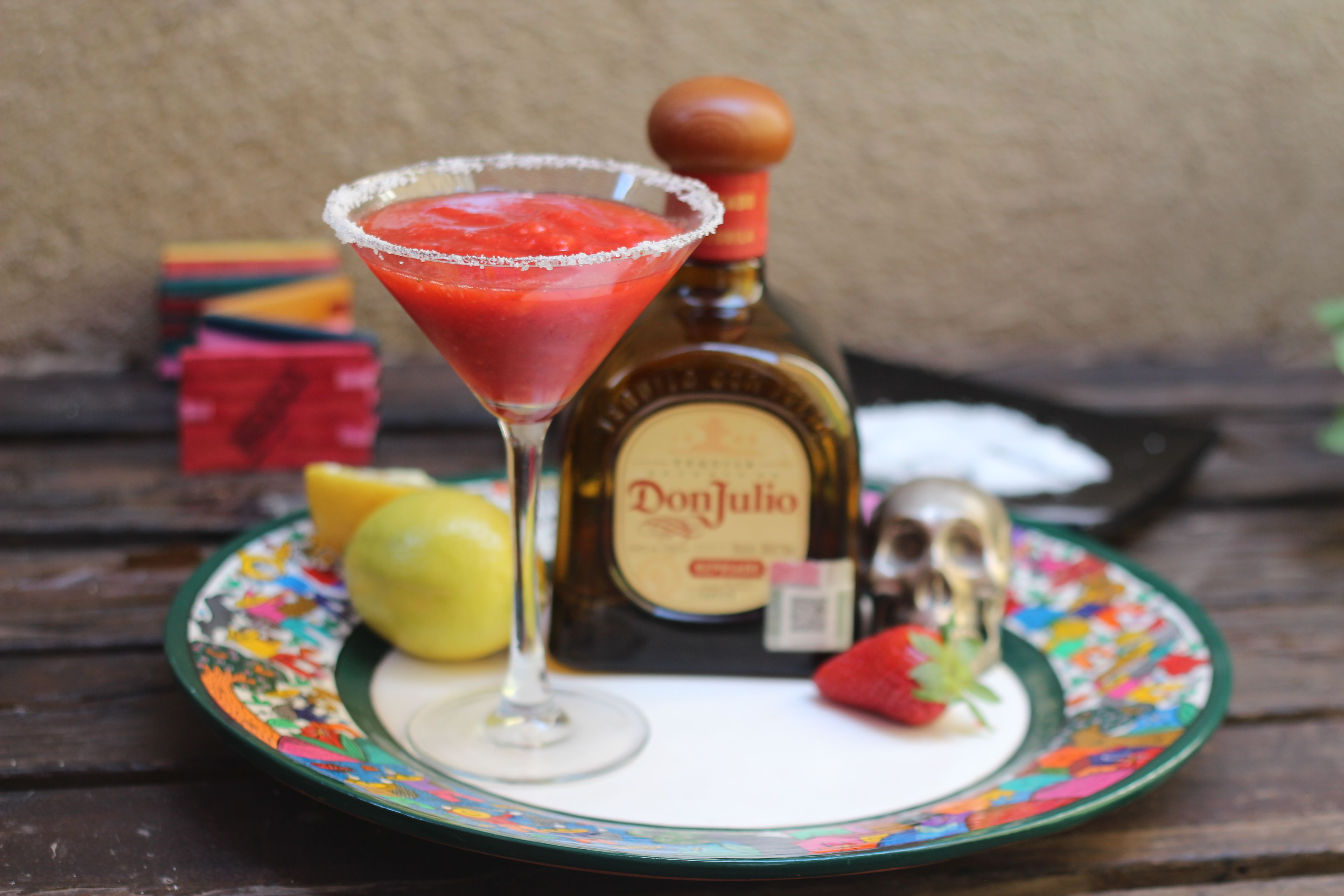 margarita frozen tequila don julio fresa