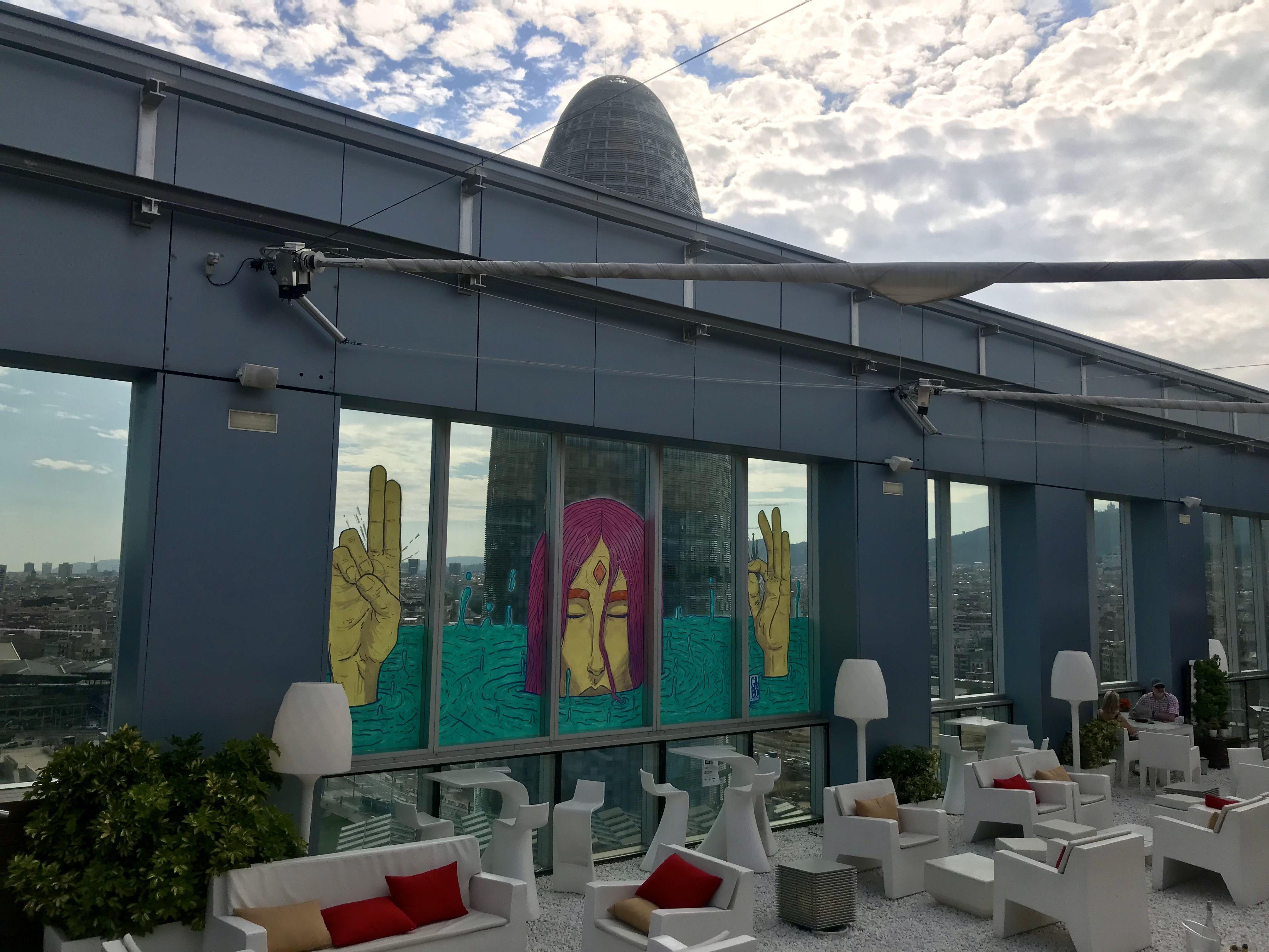 Disfrutar de un hotel con piscina en barcelona street food terrace - Hotel piscina barcellona ...